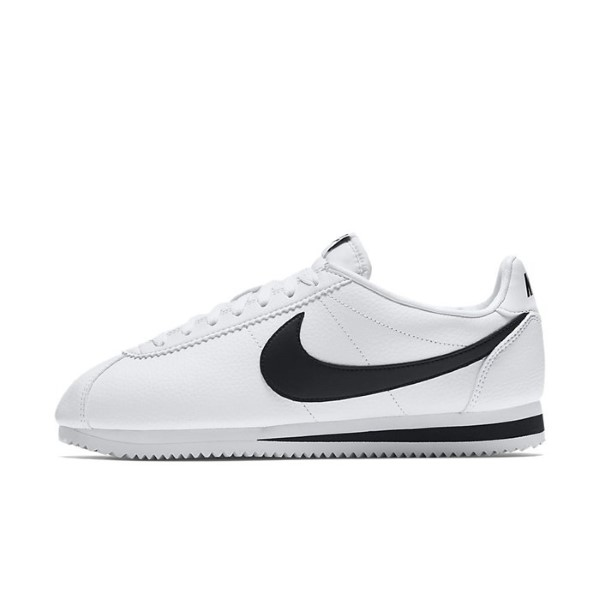 NIKE CLASSIC CORTEZ LEATHER BLANCO/NEGRO 749571-100