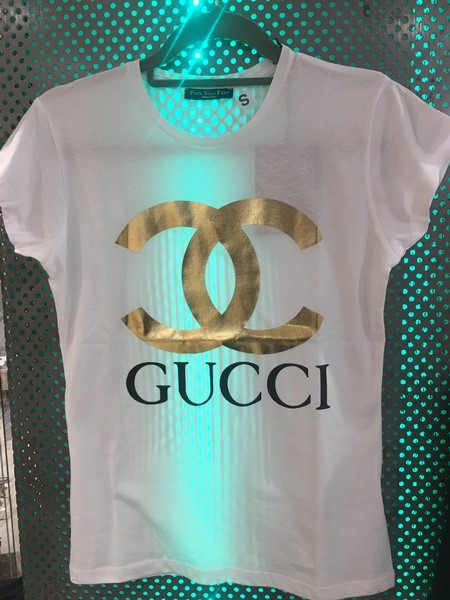 FUCK YOUR FAKE CHANEL WHITE