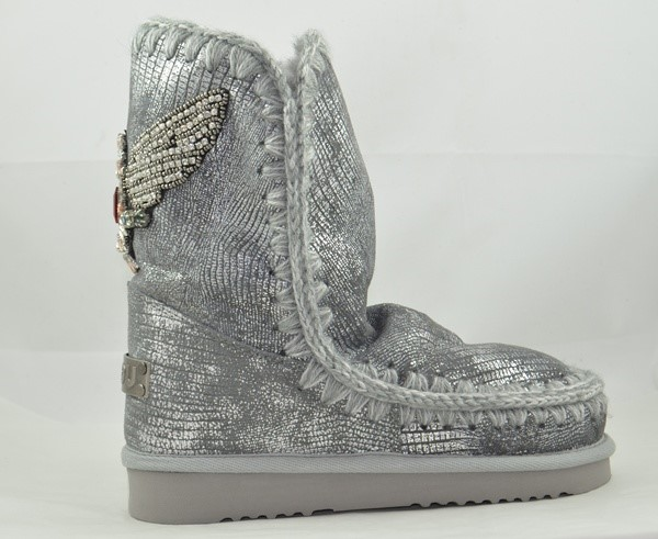 BOTA MOU ESKIMO 24 EAGLE PATCH SILVER