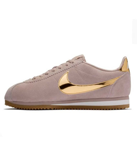 NIKE CHICA WMNS CLASSIC CORTEZ SE TAUPE/METAL/GOLD