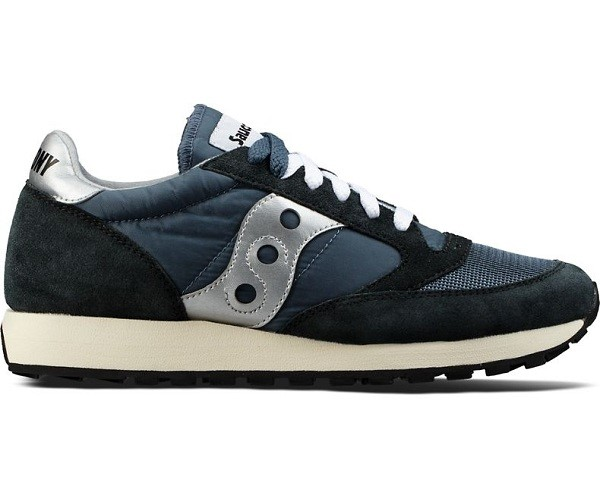 SAUCONY ORIGINALS JAZZ ORIGINAL VINTAGE S70368-4 BLUE/NAVY SILVER