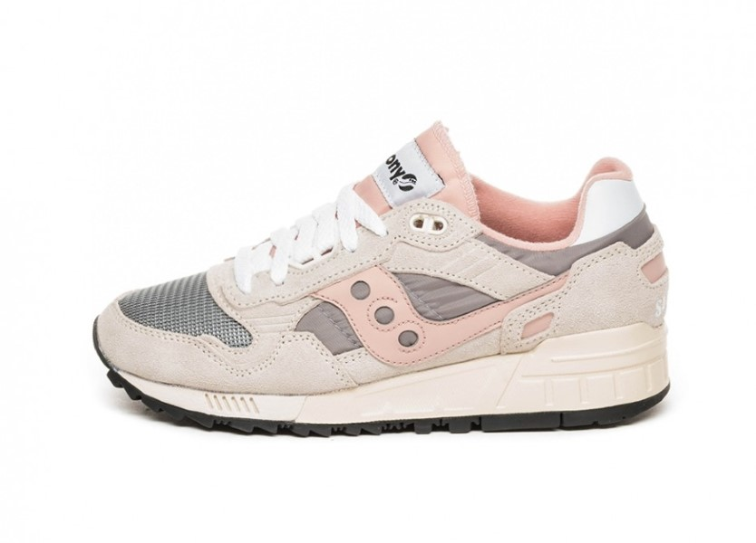 SAUCONY CHICA ORIGINALS SHADOW 5000 VINTAGE S60405-10 OFF-WHITE/GREY/PINK