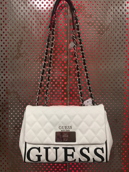 BOLSO GUESS HWVY71 75180 SWEET CANDY XBODY WHITE
