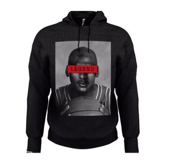 SUDADERA LEGEND JORDAN BLACK