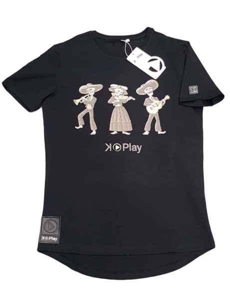 CAMISETA UNISEX K-PLAY ORQUESTA BLACK
