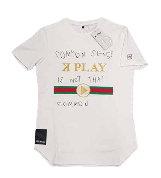 CAMISETA UNISEX K-PLAY CAMMON WHITE