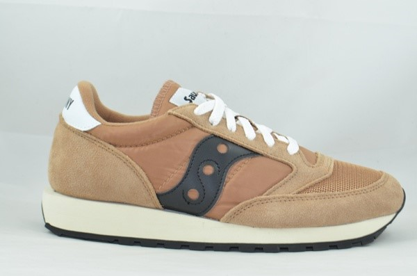 SAUCONY ORIGINALS JAZZ 0RIGINAL VINTAGE BROWN/BLACK