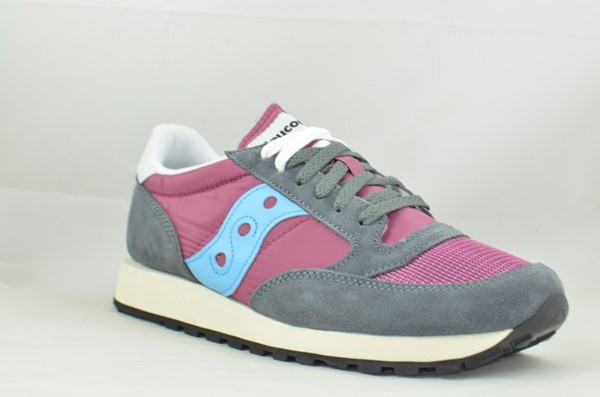 SAUCONY ORIGINALS JAZZ 0RIGINAL VINTAGE PURPLE/GREY/BLUE