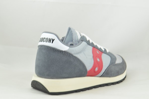 SAUCONY ORIGINALS JAZZ 0RIGINAL VINTAGE GREY/RED