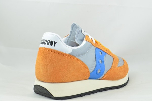 SAUCONY ORIGINALS JAZZ 0RIGINAL VINTAGE ORANGE/GREY/BLUE