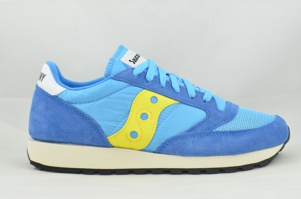 SAUCONY ORIGINALS JAZZ 0RIGINAL VINTAGE CHICO BLUE/YELLOW