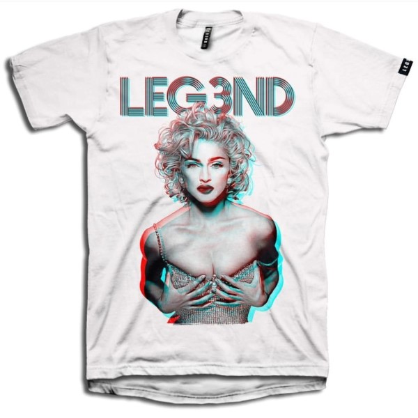 CAMISETA LEGEND MADONNA