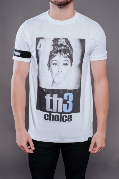 CAMISETA TH3 CHOICE GLOBO