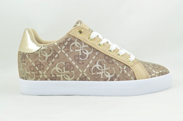 SNEAKER GUESS FL7PCN FAL12 PICAN/ACTIVE BEIG
