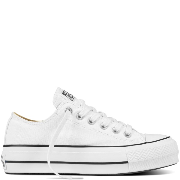 ZAPATILLA MUJER CHUCK TAYLOR ALL STAR 560251C LIFT CANVAS LOW TOP WHITE