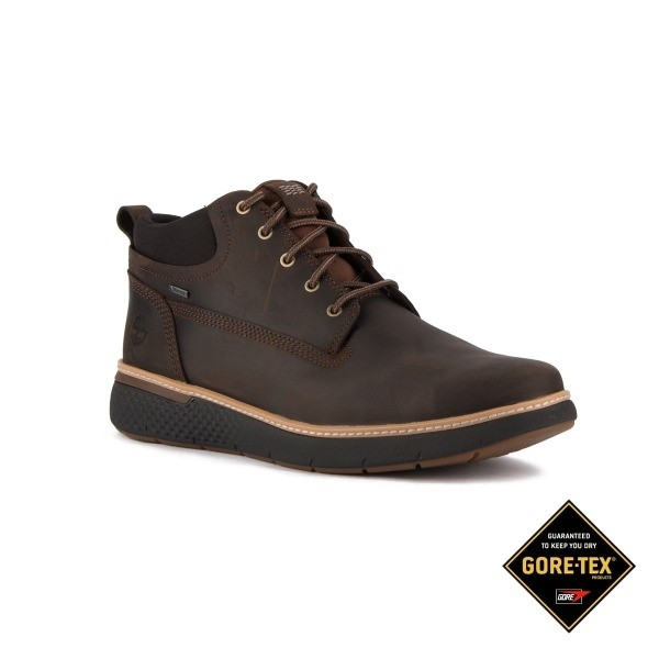 BOTA HOMBRE TIMBERLAND CROSS MARK GTX CHUKKA SADDLE BROWN