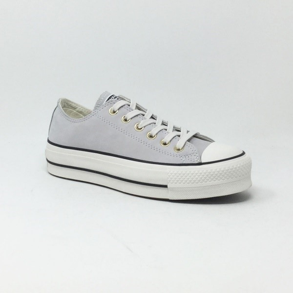 ZAPATILLAS MUJER CONVERSE CHUCK TAYLOR ALL STAR LIFT  MOUSE/VINTAGE WHITE/BLACK