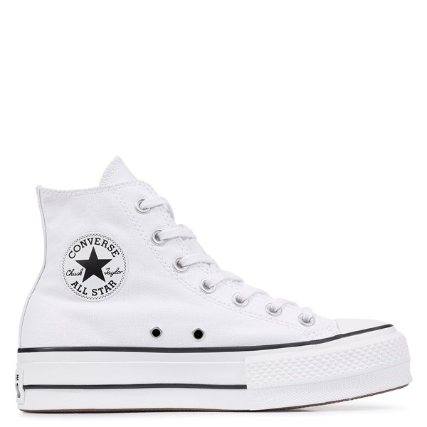 ZAPATILLAS MUJER CONVERSE ALL STAR LIFT HIGH TOP WHITE