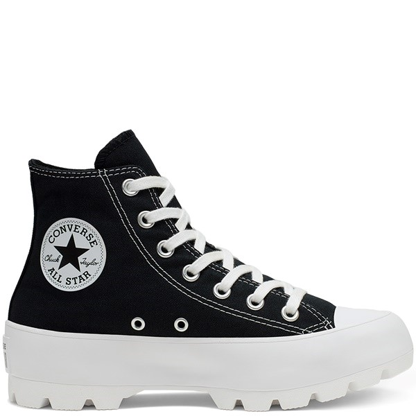 ZAPATILLAS MUJER CONVERSE 565901C CHUCK TAYLOR ALL STAR LUGGED HIGH BLACK