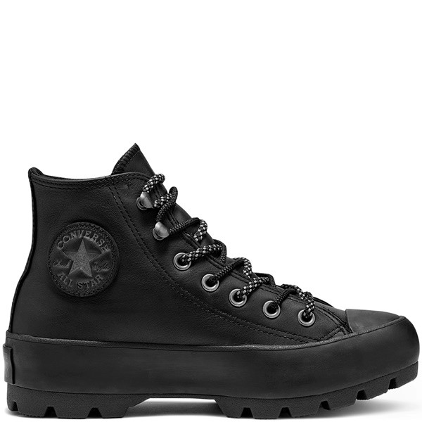 ZAPATILLAS WOMENS WINTER GORE-TEX LUGGED CHUCK TAYLOR ALL STAR BOOT HIGH TOP BLACK