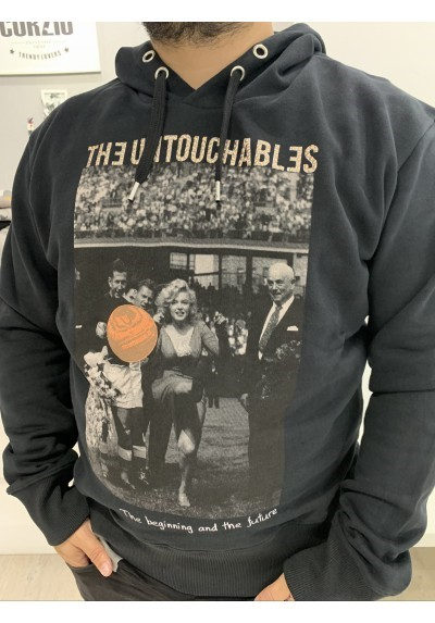 SUDADERA THE UNTOUCHABLES UNISEX SWEAT VINT MARILYN BLACK