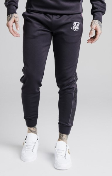 SikSilk Cuffed Cropped Fade Panel Runner Pants – Nine Iron 15232