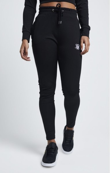 SIKSILK 1450 ZONAL TRACK PANTS – BLACK