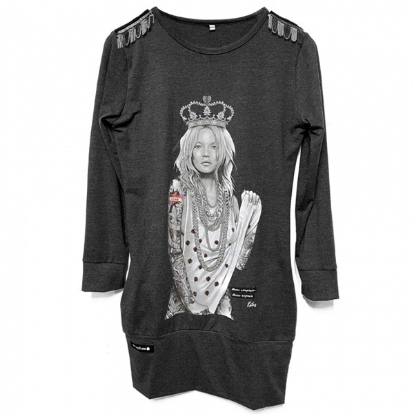 VESTIDO BE HAPPINESS KATE MOSS GRIS