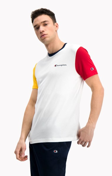 CAMISETA CHAMPION 214363-S20 WHITE