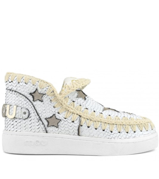 BOTAS MUJER MOU SUMMER ESKIMO SNEAKER WITH STARS