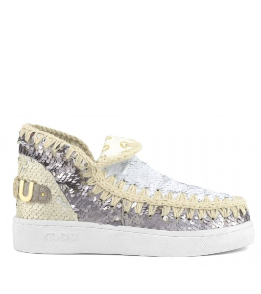 BOTAS MUJER MOU SUMMER ESKIMO NEW SNEAKER MIXED MATERIALS