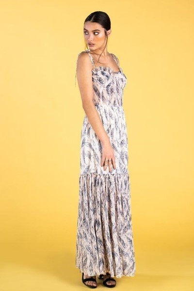 VESTIDO  GUTS AND LOVE FEATHERS