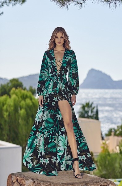 TROPIC DRESS BY FETICHE SUANCES