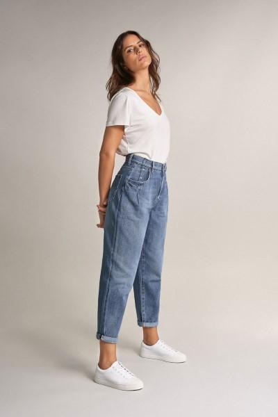 Pantalones Vaqueros Salsa Jeans Slouchy Capri Volcano Tienda Online