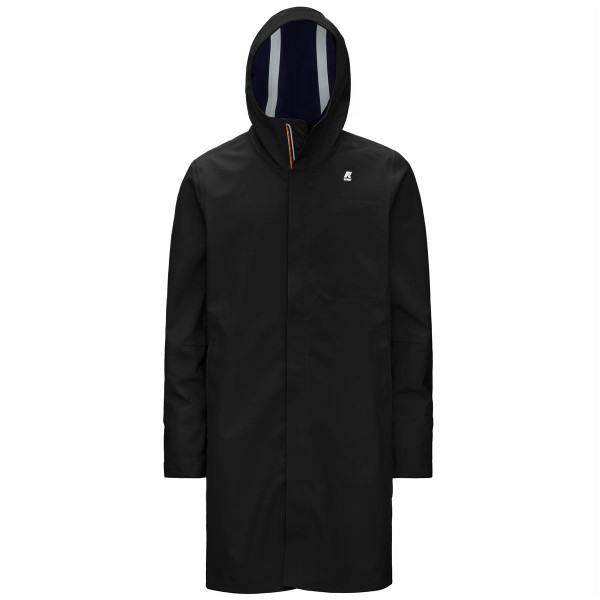 PARKA K-WAY THOMAS BONDED BLACK