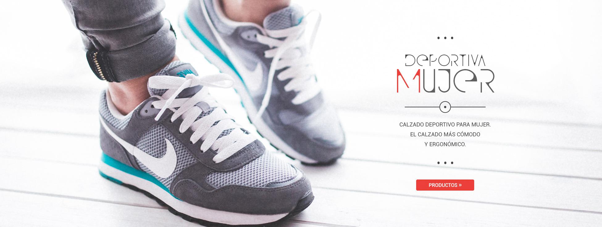 Calzado deportivo para mujer